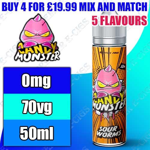 Candy Monster E liquid