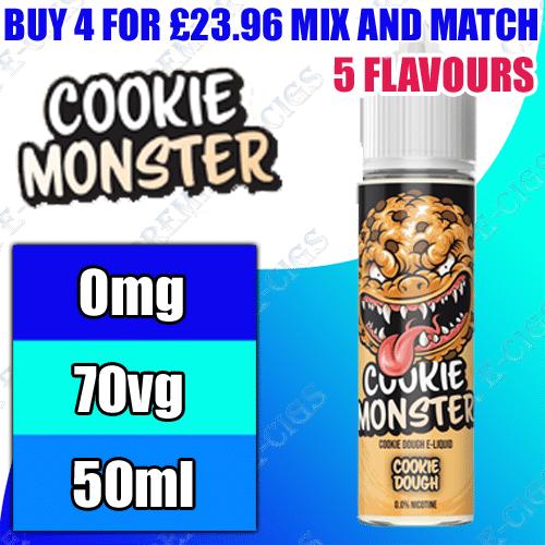 Cookie Monster E-Liquid 50ml