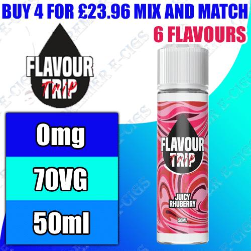 Flavour Trip E-Liquid   50ml