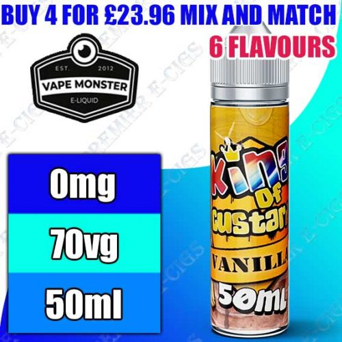 King of Custard 50ml