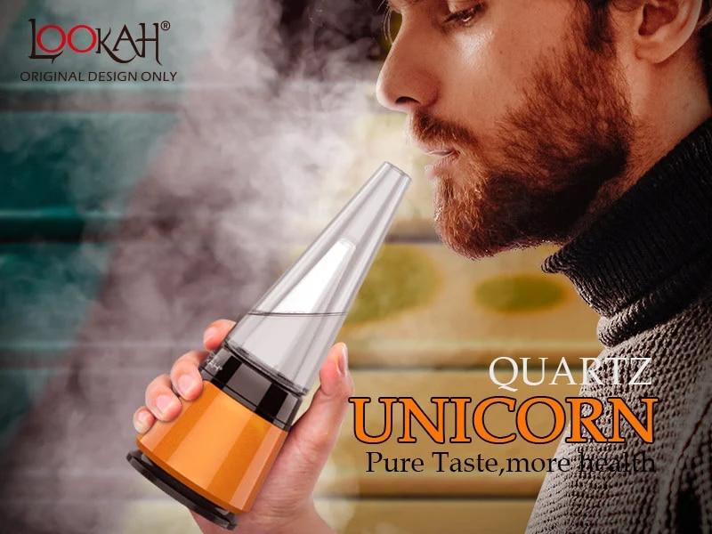lookah unicorn wax vaporizer details 1