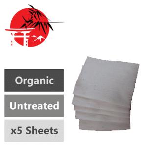Organic Japanese Cotton x5