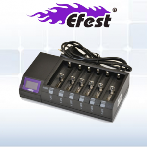 efest 6 bay charger with bluetooth