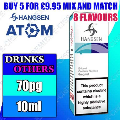 Drinks/Other Flavours – Hangsen Atom 10ml