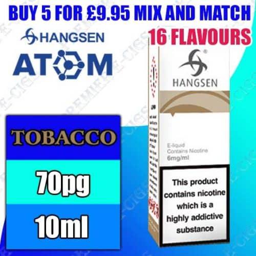 Tobacco Flavours – Hangsen Atom 10ml