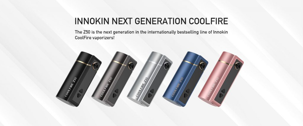 innokin coolfire z50 mod only all colours