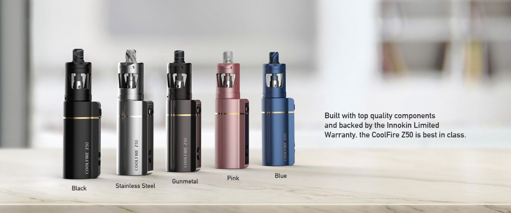 innokin coolfire z50 kit all colours