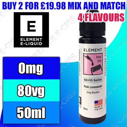 element e liquids dripper series 50ml