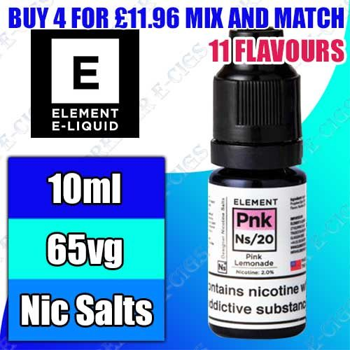Element Nicotine Salts (NS)10ml
