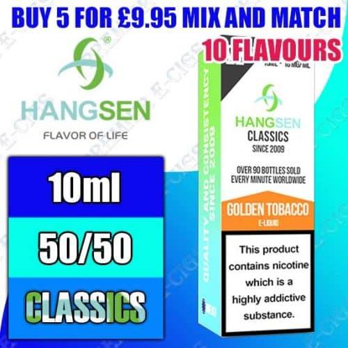 Hangsen Classics 50/50 10ml