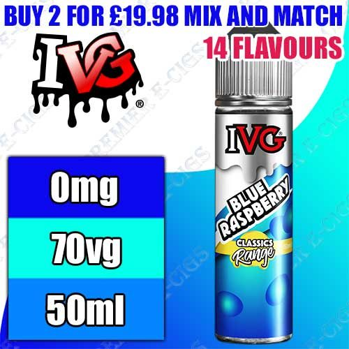 IVG Shortfills 50ml