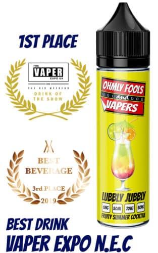 lubbly jubbly award