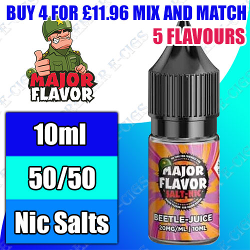 Major Flavor Salts 10ml