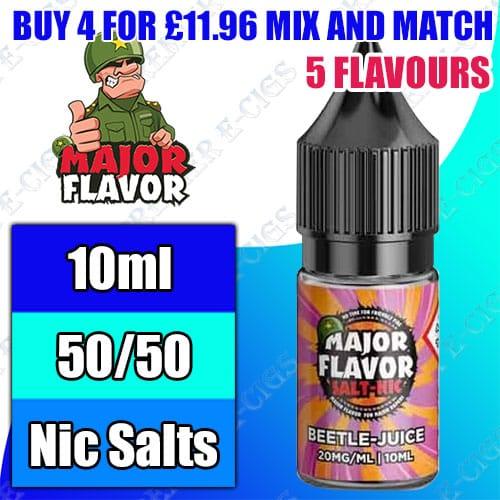 Major flavor salts