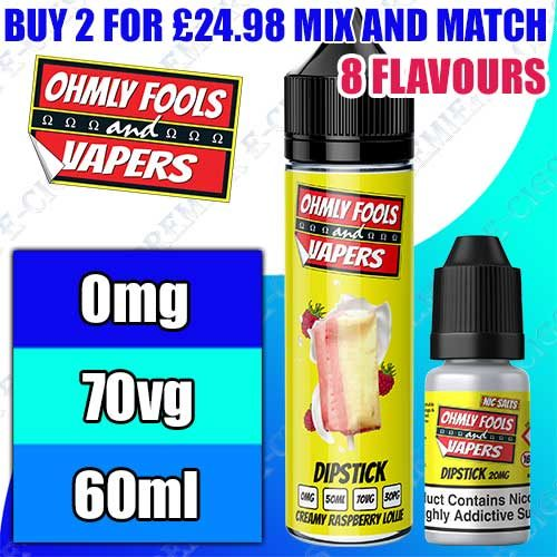 Ohmly Fools and Vapers MVP 60ml