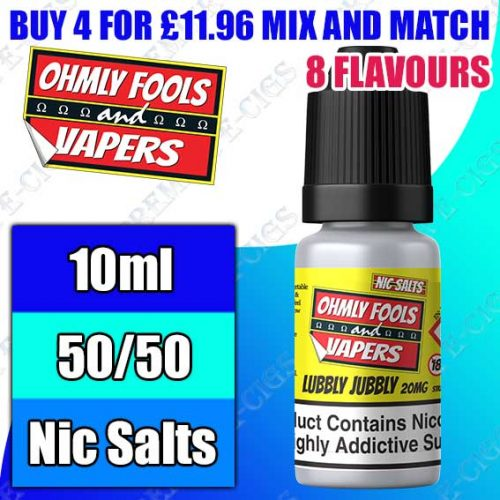 Ohmly Fools & Vapers Salts