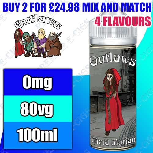 Outlaws E Liquid 100ml