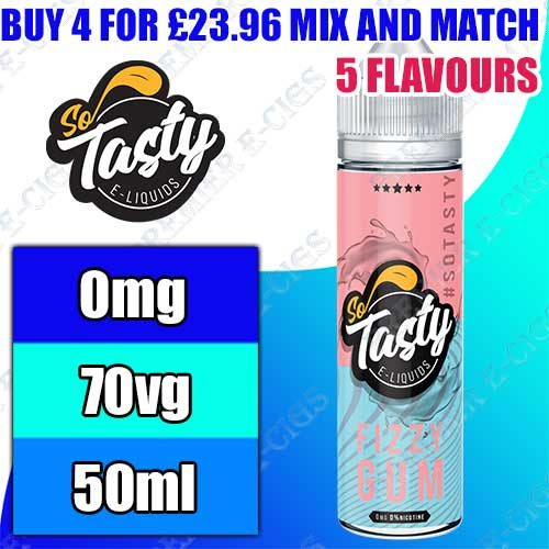 So Tasty E Liquids 50ml