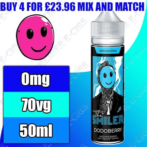The Smiler E Liquid 50ml