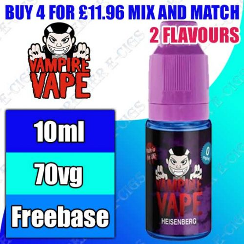 Vampire Vape 10ml High VG